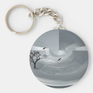 In the clouds keychain