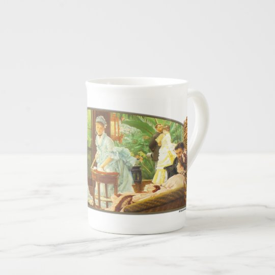 In The Conservatory - Bone China Cup