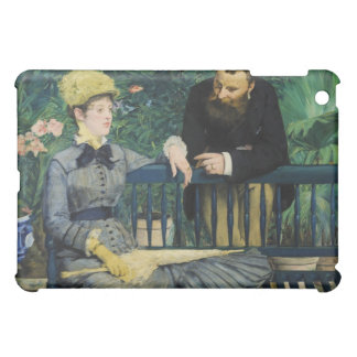In the Conservatory by Edouard Manet Cover For The iPad Mini
