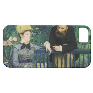 In the Conservatory by Edouard Manet in 1879 iPhone SE/5/5s Case
