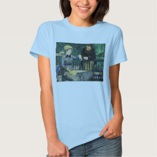 In the Conservatory by Edouard Manet in 1879 T-shirt