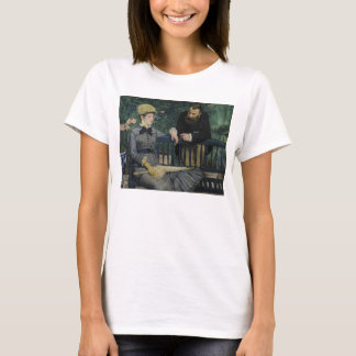 In the Conservatory by Edouard Manet T-Shirt