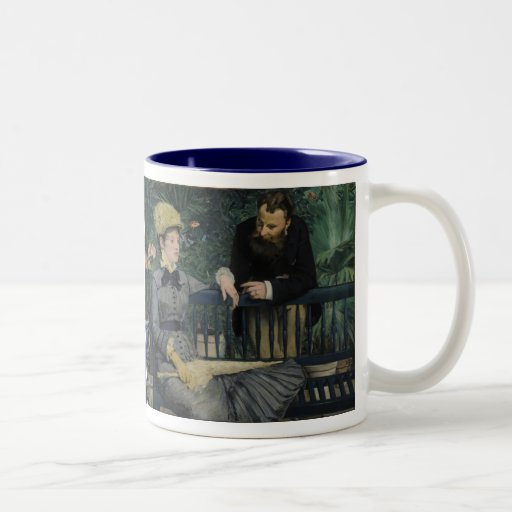 In the Conservatory - Édouard Manet (1879) Coffee Mug