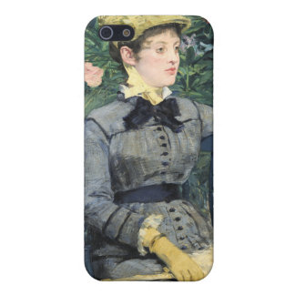 In the Conservatory, Édouard Manet Case For iPhone SE/5/5s