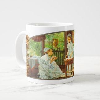 In The Conservatory - Jumbo Mug 20 Oz Large Ceramic Coffee Mug