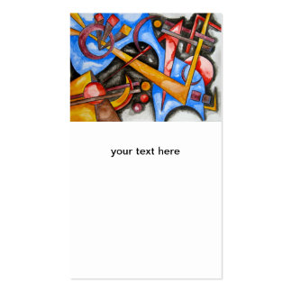 In The Cosmos - Abstract Art Business Card