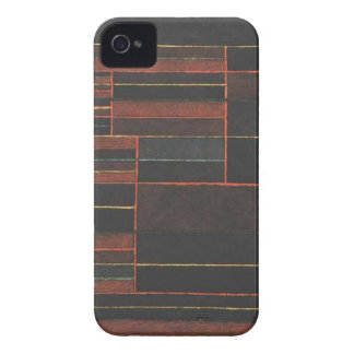 In the current six thresholds by Paul Klee iPhone 4 Case-Mate Case