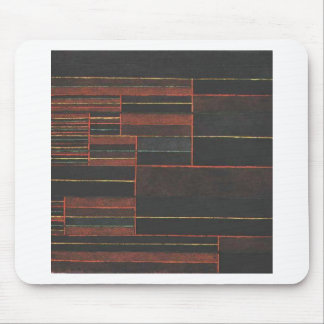 In the current six thresholds by Paul Klee Mouse Pad
