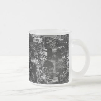 In the dark Frosted 10 oz Frosted Glass Mug