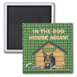 IN THE DOG HOUSE AGIAN! MAGNETS