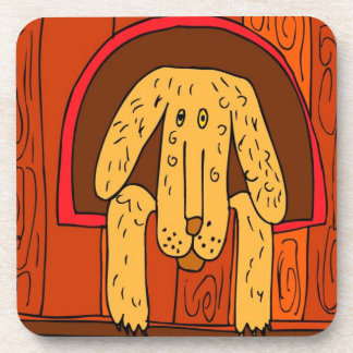 In The Dog House  Design Coasters