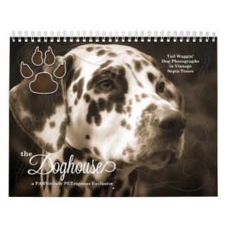 In the Dog House Fun Dog Lover's Calendar