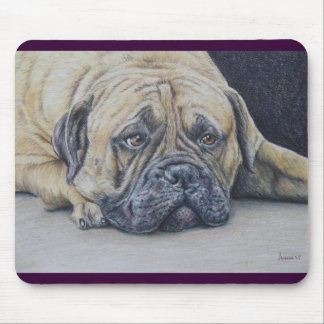 In the Doghouse Again Mousepad