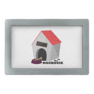 In The Doghouse Belt Buckles