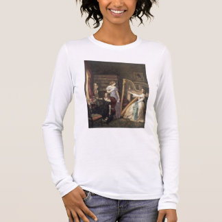 In the Drawing Room (w/c on paper) Long Sleeve T-Shirt