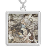 In the Duchess's Kitchen Square Pendant Necklace
