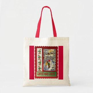 In the elves garden budget tote bag