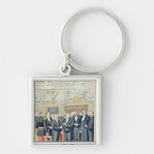 In the Elysee Palace, the Ceremonial Transfer Key Chain