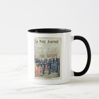In the Elysee Palace, the Ceremonial Transfer Mug