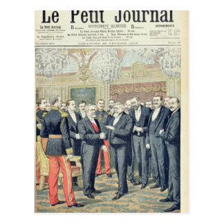 In the Elysee Palace, the Ceremonial Transfer Postcard
