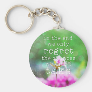 In the end... keychain