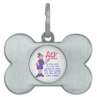 In the End Pet ID Tag