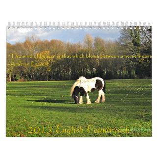In the English Countryside 2013 Calendar