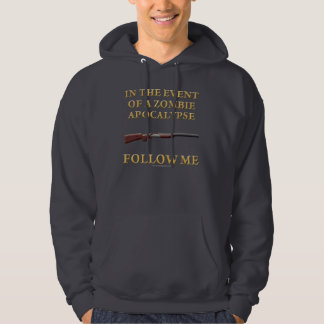 In the Event of a Zombie Apocalypse Hoodie