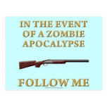 In the Event of a Zombie Apocalypse Postcards