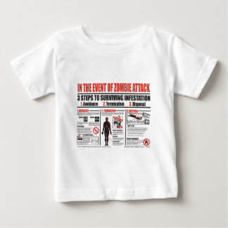 In The Event of Zombie Attack: T SHIRT