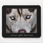 In the eyes mouse mats