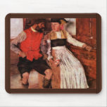 In The Farmhouse Parlor By Leibl Wilhelm Mouse Pad