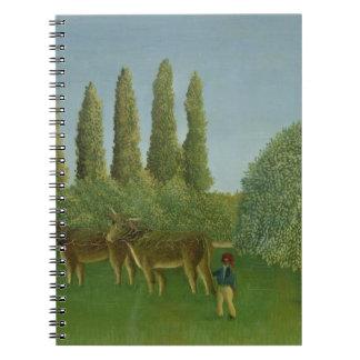 In the Fields, 1910 Notebook