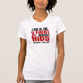 In The Fight Against AIDS Tee Shirt