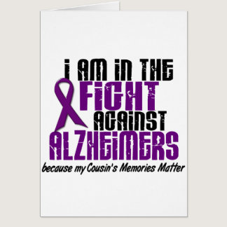 In The Fight Against Alzheimer's Disease COUSIN Card