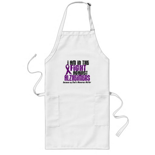 In The Fight Against Alzheimer's Disease DAD Apron