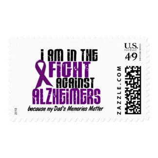 In The Fight Against Alzheimer's Disease DAD Postage