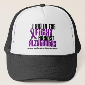 In The Fight Against Alzheimer's Disease GRANDPA Trucker Hat