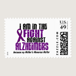 In The Fight Against Alzheimer's Disease MOTHER Postage
