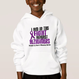In The Fight Against Alzheimer's Disease NANA Hoodie