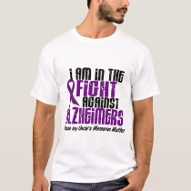 In The Fight Against Alzheimer's Disease UNCLE T-Shirt
