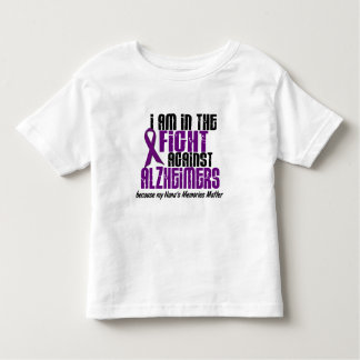 In The Fight Against Alzheimers DISTRESSED Toddler T-shirt