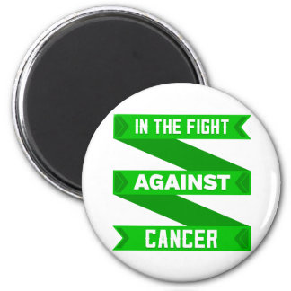 In The Fight Against Bile Duct Cancer 2 Inch Round Magnet