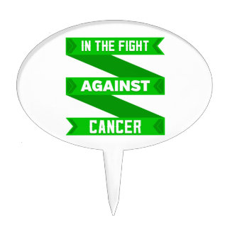 In The Fight Against Bile Duct Cancer Cake Topper