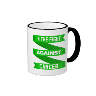 In The Fight Against Bile Duct Cancer Ringer Mug