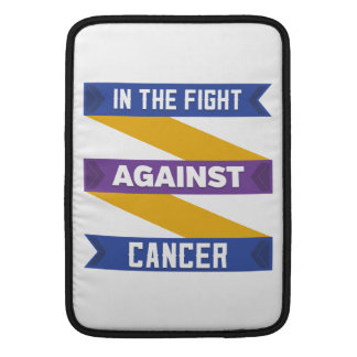 In The Fight Against Bladder Cancer MacBook Sleeve