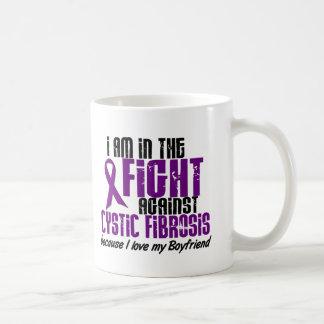 In The Fight Against Cystic Fibrosis BOYFRIEND Classic White Coffee Mug