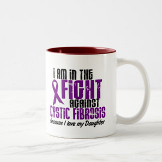 In The Fight Against Cystic Fibrosis DAUGHTER Mug