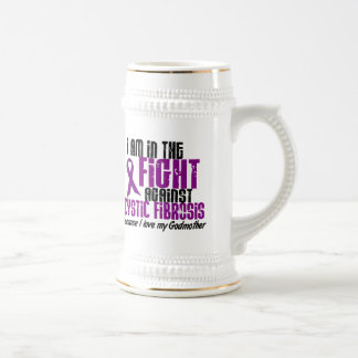 In The Fight Against Cystic Fibrosis GODMOTHER 18 Oz Beer Stein