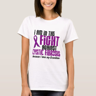 In The Fight Against Cystic Fibrosis GRANDSON T-Shirt